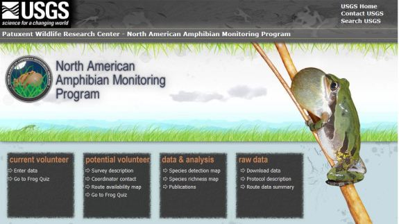 The USGS North America Amphibian Monitoring Program