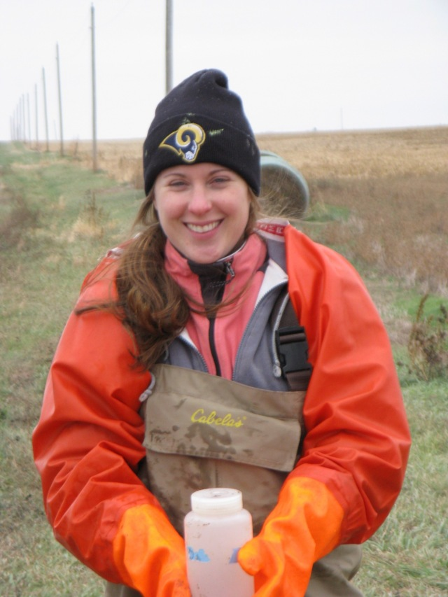Nature Conservancy Assistant Aquatic Ecologist  Krista Kirkham